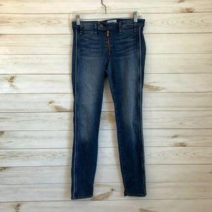 MCGUIRE Gotham Slim Side Stripe Skinny Jeans